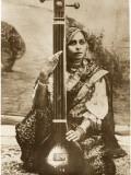 Agra, India - Lady Sitar Player Photographic Print