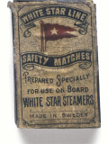 White Star Matches Photographic Print by Onslow's Auctions