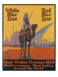 White / Red Star Lines Winter Cruises Giclee Print