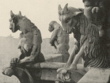 A Trio of Gargoyles Photographic Print