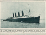 The Great Cunard Liner Lusitania, Was Torpedoed and Sunk by a German Submarine Photographic Print