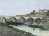 Angers: La Maine Photographic Print