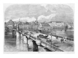 View of the Town from across the Rhine Giclee Print
