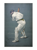 W G Grace - Cricketer Giclee Print
