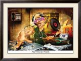 DJ Frank Posters by Adam Perez
