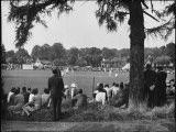 Village Cricket Match Photographic Print