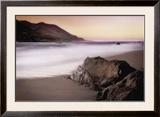 Garrapata Beach Poster by John Rehner