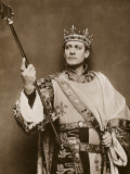 The Actor-Manager Lewis Waller in the Title Role in King Henry V Photographic Print by Vanessa Wagstaff