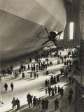 The Hindenburg Zeppelin - 1936 Olympics Reprodukcja zdjęcia