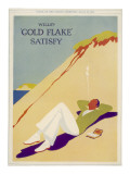 Wills's Gold Flake Satisfy Giclee Print
