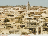 Panoramic View of the Rooftops of Tunis, Tunisia, Photographic Print
