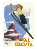 Val D'Aosta Poster Giclee Print