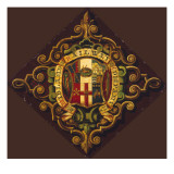 The Wonderful Decorative Coats of Arms of the Midland Railway Company Giclee Print
