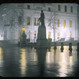 Trafalgar Square at Night Photographic Print