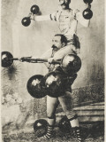 Turkish Wrestler Photographic Print