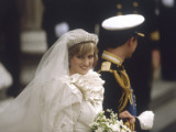 Wedding of Prince Charles and Lady Diana Spencer Photographic Print