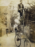 Very Elevated Bicycle Photographic Print