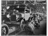 The Ford Assembly Line in 1928 Photographic Print