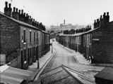 Terraced Houses in Wigan - 1961 Photographic Print by Shirley Baker