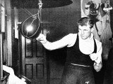 Tommy Farr Using a Punch Ball, 1937 Photographic Print