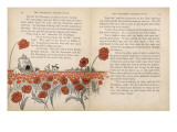 Wizatd of Oz, Poppy Field Giclee Print