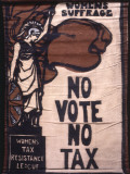 Women's Tax Resistance League Banner Photographic Print by Women's Library