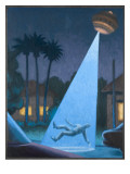 UFOs, Roswell Crash Giclee Print by Michael Buhler