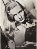 Veronica Lake (Constance Ockleman) American Film Actress Papier Photo