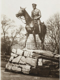 Statue of Field Marshal Haig - Edinburgh Castle Photographic Print