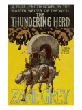 The Thundering Herd Giclee Print