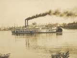 The Queen City Paddleboat on the Ohio River, America Photographic Print