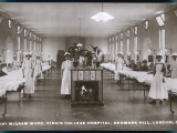 Wigram Ward of King's College Hospital, Denmark Hill, S.E. London Photographic Print