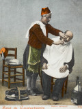 Travelling Barber - Turkey Photographic Print