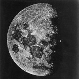 The Moon Photographed on the Tenth Day of the Lunar Cycle Photographic Print