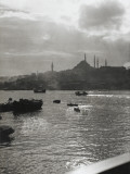 A View across the Bosphorus to Istanbul Photographic Print