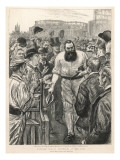W G Grace During a Match Against Australia at the Oval Giclee Print
