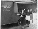 Townswomen's Guild Members Provide Tea for the Home Guard Photographic Print