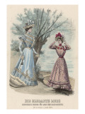 Two Women Dressed in Fashionable Gowns Go Boating Giclee Print by Philip Talmage