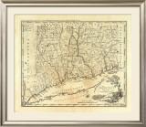 Connecticut, c.1795 Framed Giclee Print by Mathew Carey