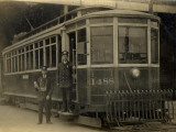 Street Car in Toronto, Canada in the 1900s Photographic Print