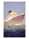 Union-Castle Liner Giclee Print