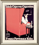 Franz Foveaux Framed Giclee Print by Ludwig Hohlwein