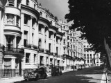 A View of Brunswick Square at Hove, Sussex. Famous for its Lovely Regency Buildings Photographic Print