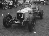 A Classic Old Racing Car at a Rally in the Uk Photographic Print by Vanessa Wagstaff