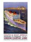 Union-Castle Line Poster Giclee Print