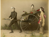 Woman in Rickshaw Photographic Print by Pump Park