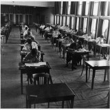 Students Taking their Exams at Hatfield Technical College Photographic Print by Henry Grant