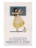 Wright's Coal Tar Soap - the Ideal Soap for Toilet and Nursery Use Giclee Print