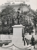 Statue to Peter the Great in Sampsonievsky Prospekt, St Petersburg, Russia Photographic Print