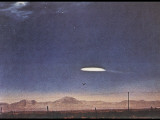 UFO Near Holloman Air Force Base, New Mexico Photographic Print